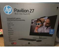 Hp Pavillion 27 All-In-One Touch PC