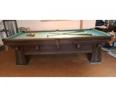 Pool Table circa 1916