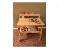 Melissa & Doug Workbench; like new