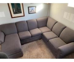 Grey Sectional - $500 OBO
