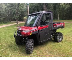 2018 Polaris Ranger 1000xp only 317 miles