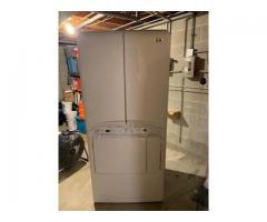 Gas Dryer.  Maytag Neptune with both traditional and dry cleaning