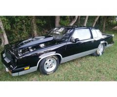 81 olds cutlass drag car