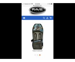 Rave knee board