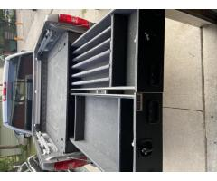 Pickup bed gun safe (truck vault)