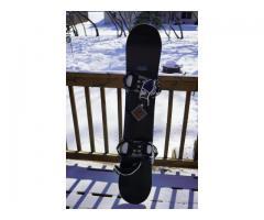 Arbor Formula 148cm Snowboard & Bindings