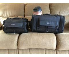Motorcycle travel bags